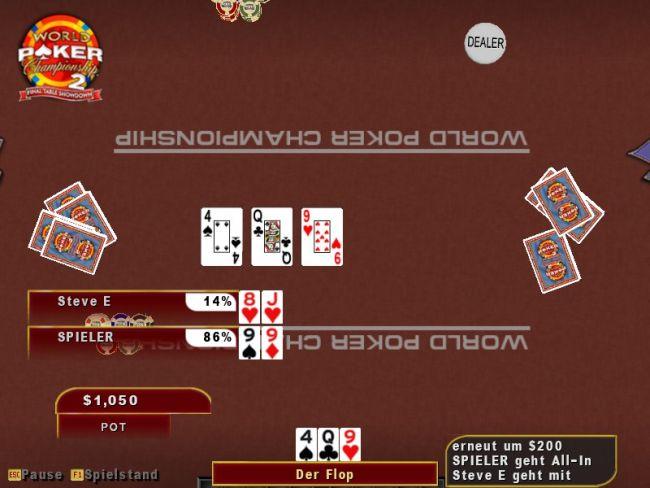World Poker Championship 2: Final Table Showdown  Archiv - Screenshots - Bild 5