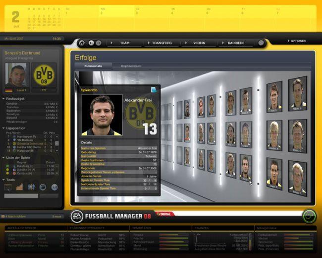 Fussball Manager 08  Archiv - Screenshots - Bild 58