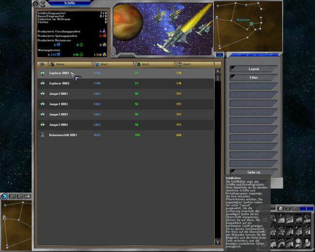 Space Empires 5  Archiv - Screenshots - Bild 3