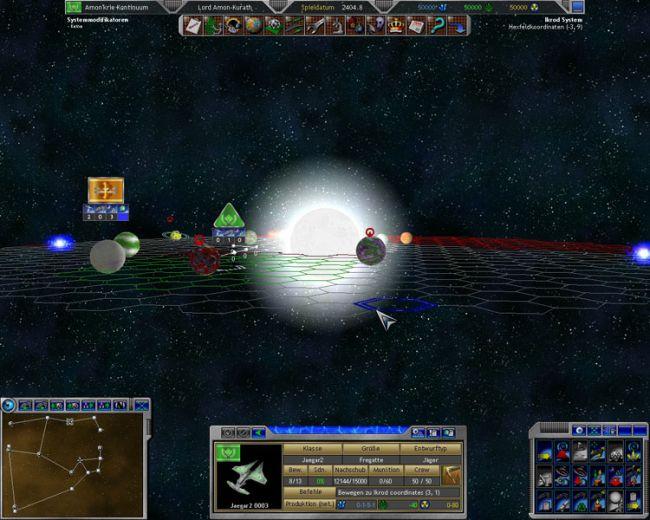 Space Empires 5  Archiv - Screenshots - Bild 4