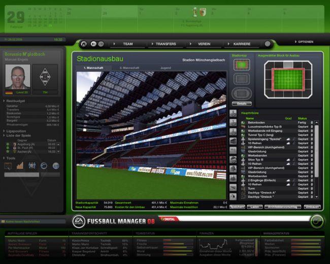 Fussball Manager 08  Archiv - Screenshots - Bild 59