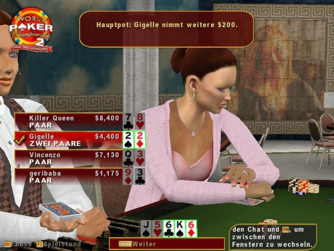 World Poker Championship 2: Final Table Showdown  Archiv - Screenshots - Bild 10