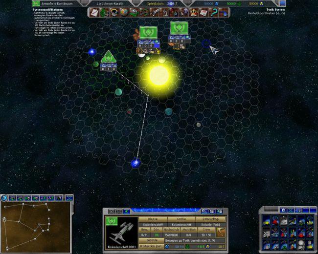 Space Empires 5  Archiv - Screenshots - Bild 2