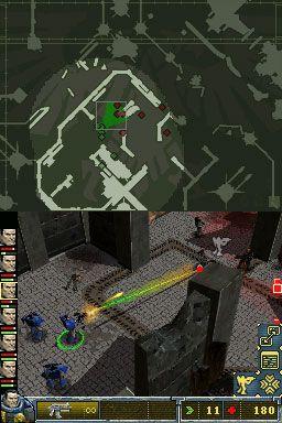 Warhammer 40.000: Squad Command (DS)  Archiv - Screenshots - Bild 2