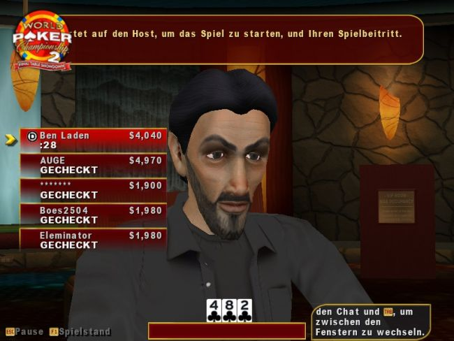 World Poker Championship 2: Final Table Showdown  Archiv - Screenshots - Bild 13