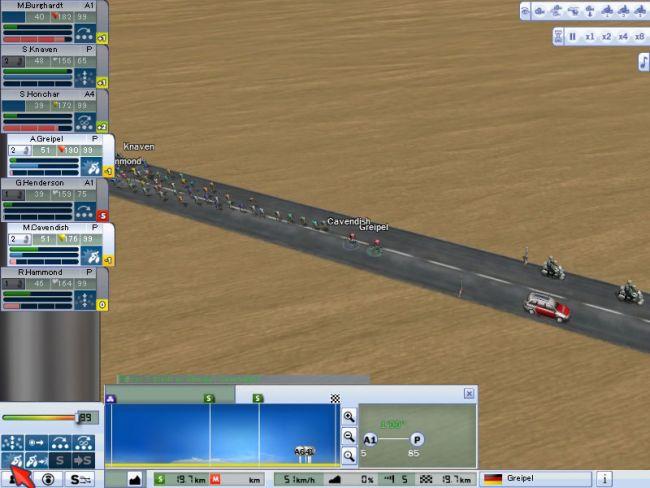 Radsport Manager Pro 2007  Archiv - Screenshots - Bild 7