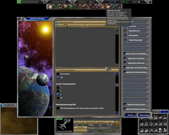 Space Empires 5  Archiv - Screenshots - Bild 10