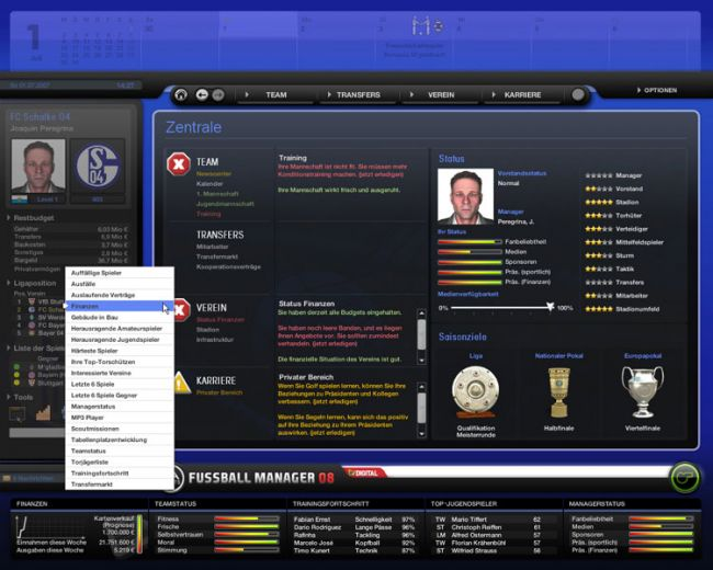 Fussball Manager 08  Archiv - Screenshots - Bild 57