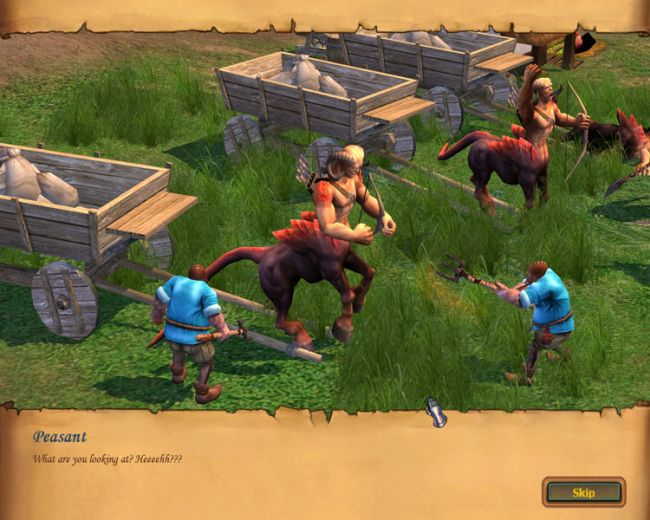 Heroes of Might & Magic 5: Tribes of the East  Archiv - Screenshots - Bild 21