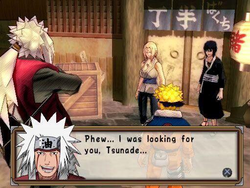Naruto: Ultimate Ninja 2  Archiv - Screenshots - Bild 5