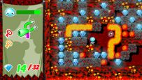 Boulder Dash - Rocks! (PSP)  Archiv - Screenshots - Bild 7