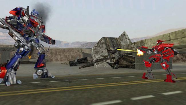 Transformers: The Game (PSP)  Archiv - Screenshots - Bild 9