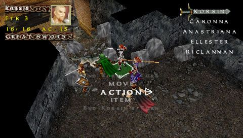 Dungeons & Dragons: Tactics (PSP)  Archiv - Screenshots - Bild 6