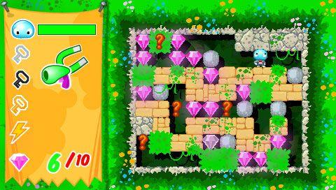Boulder Dash - Rocks! (PSP)  Archiv - Screenshots - Bild 4