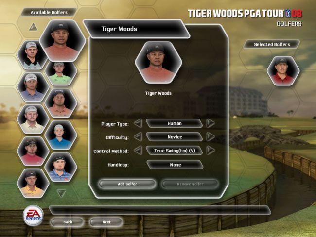 Tiger Woods PGA Tour 08  Archiv - Screenshots - Bild 19