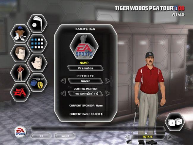 Tiger Woods PGA Tour 08  Archiv - Screenshots - Bild 3