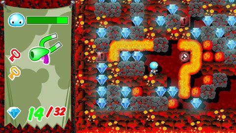 Boulder Dash - Rocks! (PSP)  Archiv - Screenshots - Bild 7