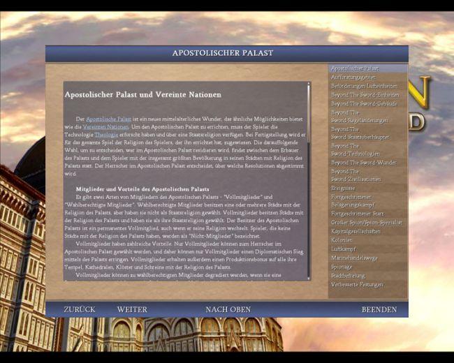 Civilization 4: Beyond the Sword  Archiv - Screenshots - Bild 3