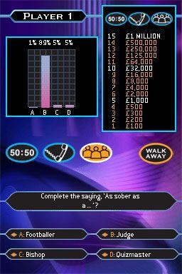 Wer wird Millionär? (DS)  Archiv - Screenshots - Bild 7