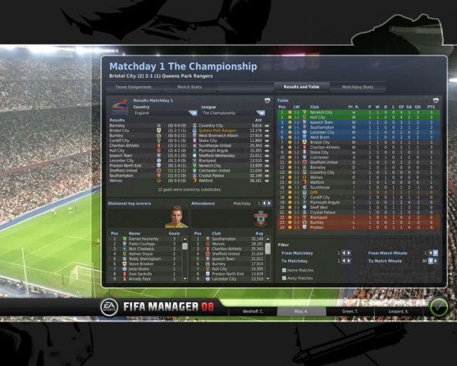 Fussball Manager 08  Archiv - Screenshots - Bild 40