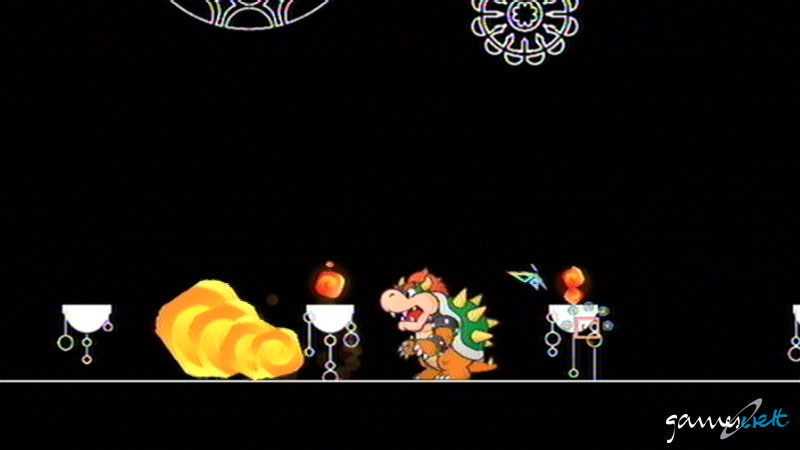 How to beat world 8-1 in super paper mario
