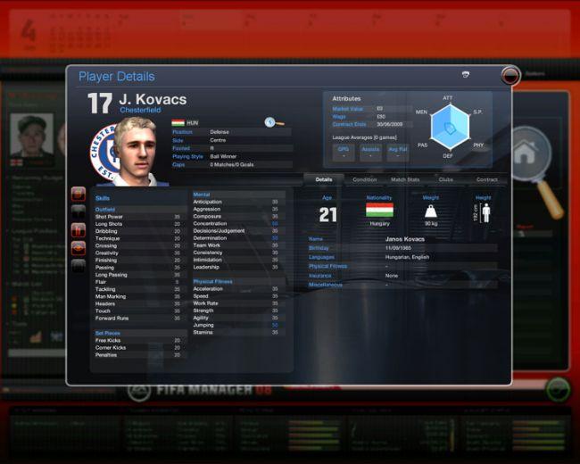 Fussball Manager 08  Archiv - Screenshots - Bild 51