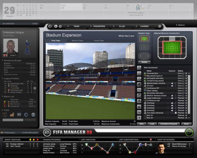Fussball Manager 08  Archiv - Screenshots - Bild 54
