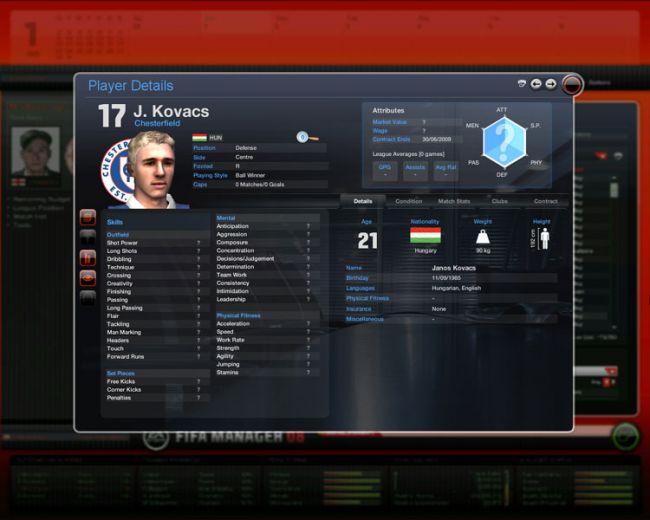 Fussball Manager 08  Archiv - Screenshots - Bild 49