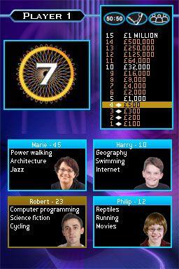 Wer wird Millionär? (DS)  Archiv - Screenshots - Bild 6