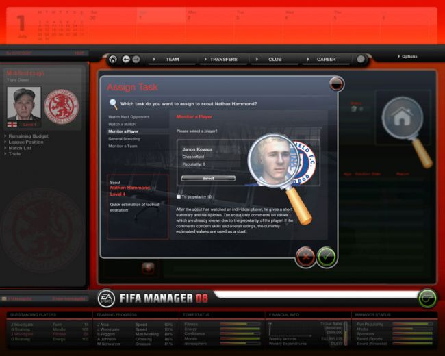 Fussball Manager 08  Archiv - Screenshots - Bild 50
