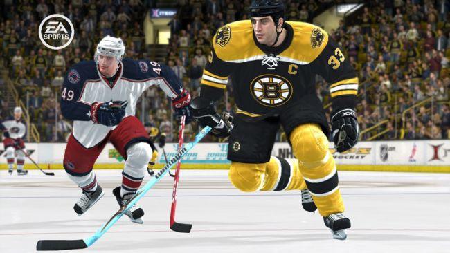 NHL 08  Archiv - Screenshots - Bild 3
