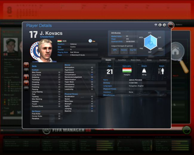 Fussball Manager 08  Archiv - Screenshots - Bild 52