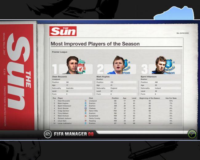 Fussball Manager 08  Archiv - Screenshots - Bild 55