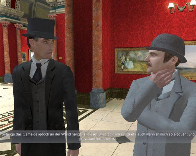 Sherlock Holmes jagt Arsène Lupin  Archiv - Screenshots - Bild 23