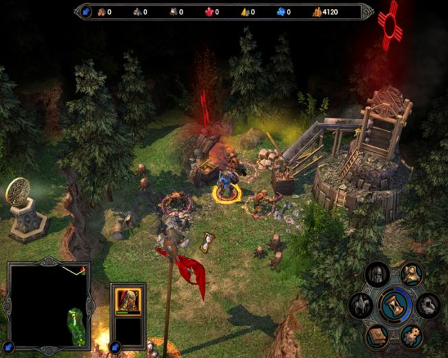 Heroes of Might & Magic 5: Tribes of the East  Archiv - Screenshots - Bild 3