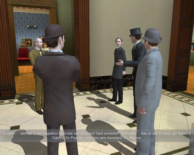 Sherlock Holmes jagt Arsène Lupin  Archiv - Screenshots - Bild 18