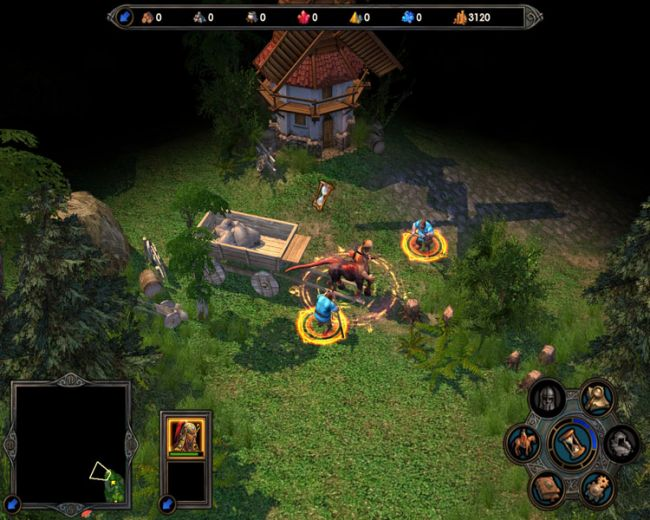 Heroes of Might & Magic 5: Tribes of the East  Archiv - Screenshots - Bild 2