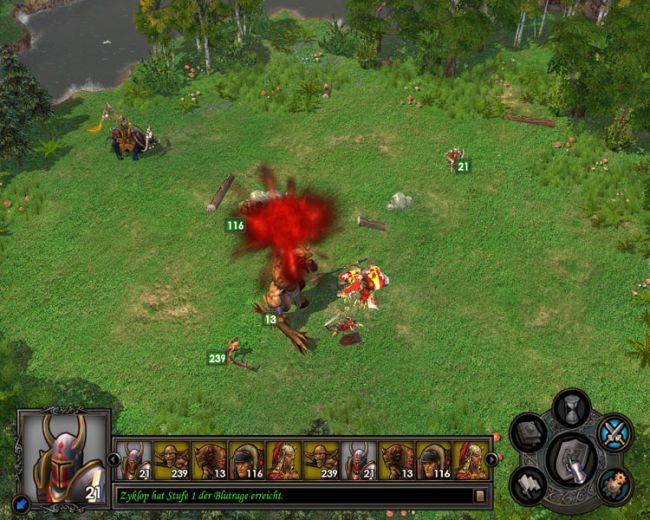 Heroes of Might & Magic 5: Tribes of the East  Archiv - Screenshots - Bild 14