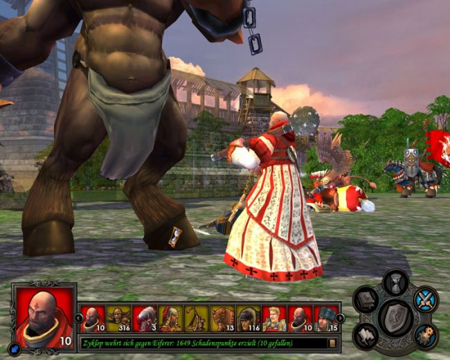 Heroes of Might & Magic 5: Tribes of the East  Archiv - Screenshots - Bild 11