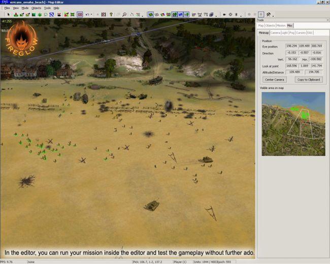 Sudden Strike 3: Arms for Victory - Map-Editor  Archiv - Screenshots - Bild 11