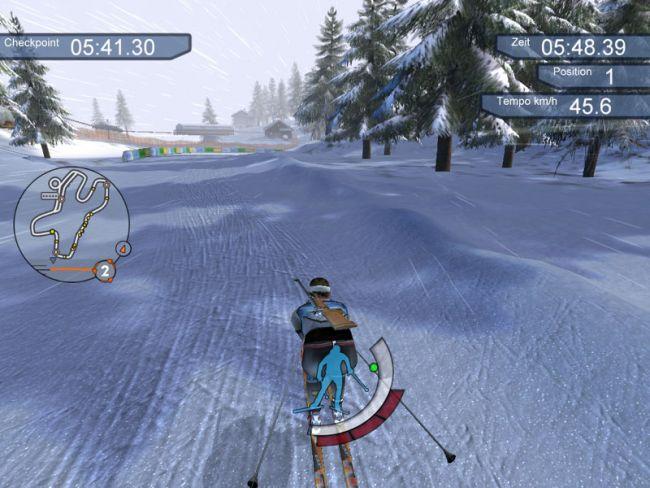 RTL Biathlon 2008  Archiv - Screenshots - Bild 9