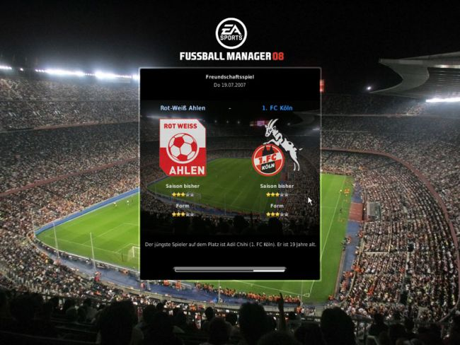 Fussball Manager 08  Archiv - Screenshots - Bild 21