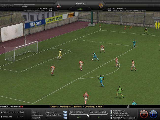 Fussball Manager 08  Archiv - Screenshots - Bild 19