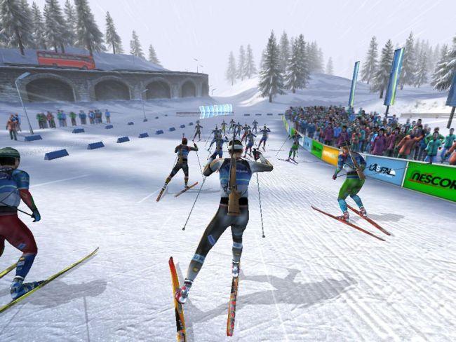 RTL Biathlon 2008  Archiv - Screenshots - Bild 6