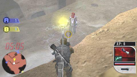 Syphon Filter: Combat Ops (PSP)  Archiv - Screenshots - Bild 11