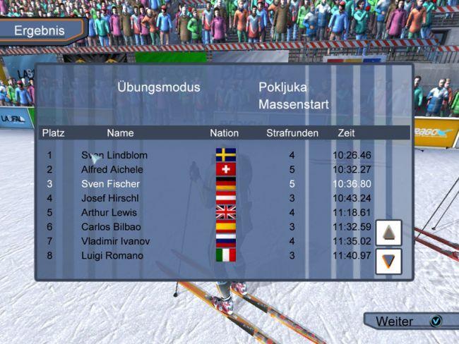 RTL Biathlon 2008  Archiv - Screenshots - Bild 10