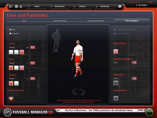 Fussball Manager 08  Archiv - Screenshots - Bild 7