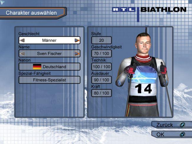 RTL Biathlon 2008  Archiv - Screenshots - Bild 3