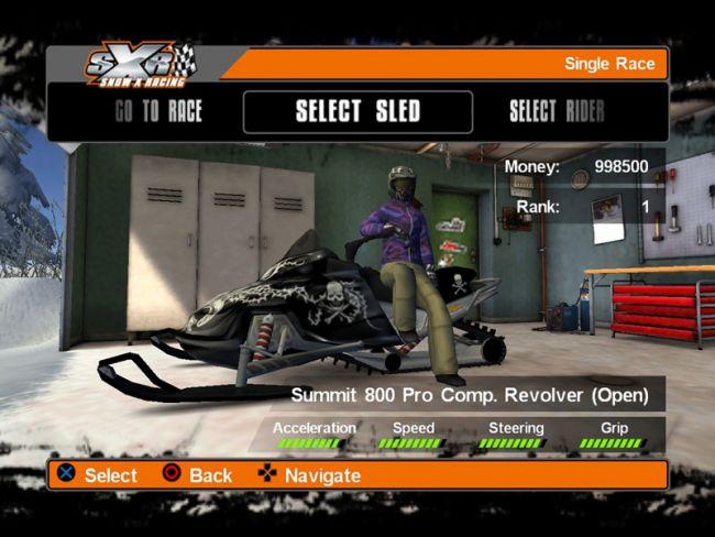 Snow X Racing  Archiv - Screenshots - Bild 8