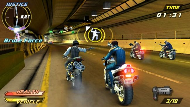 Pursuit Force: Extreme Justice (PSP)  Archiv - Screenshots - Bild 9